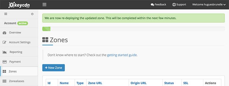 Wordpress et CDN sous Nginx - Déploiement sur KeyCDN